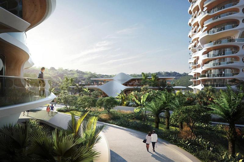 Новый экологический проект от Zaha Hadid Architects в Мексике