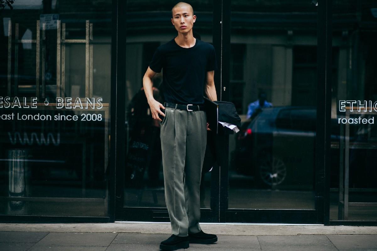 Уличный стиль: Неделя мужской моды в Лондоне весна/лето 2018. Часть 2
