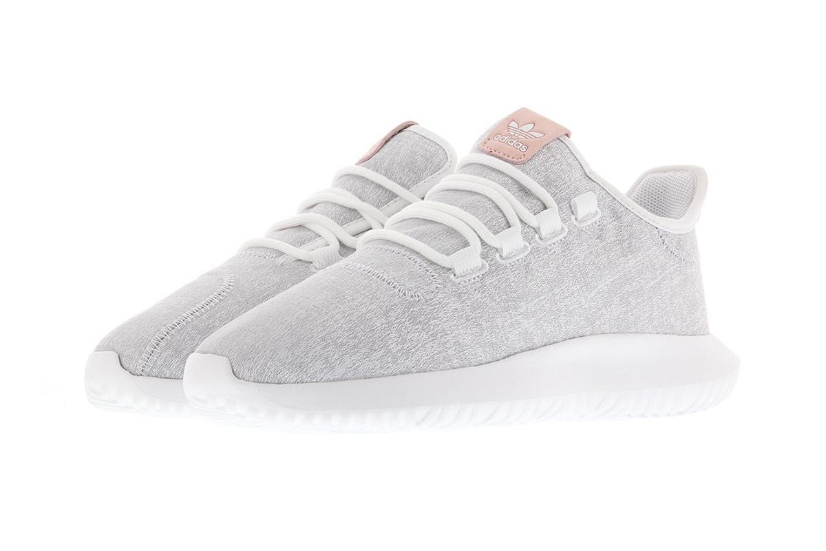 adidas представляет уютные кроссовки Tubular Shadow в серо-розовом цвете