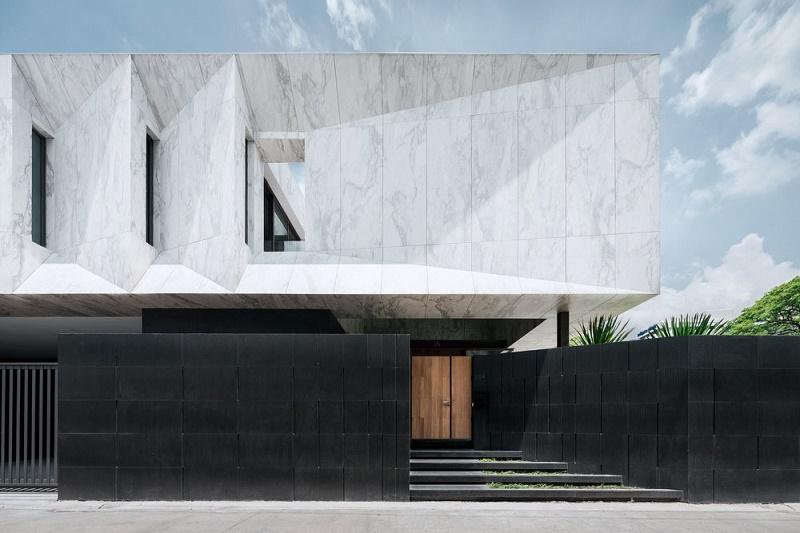 "Openbox строят монолитный дом ""Marble House"""