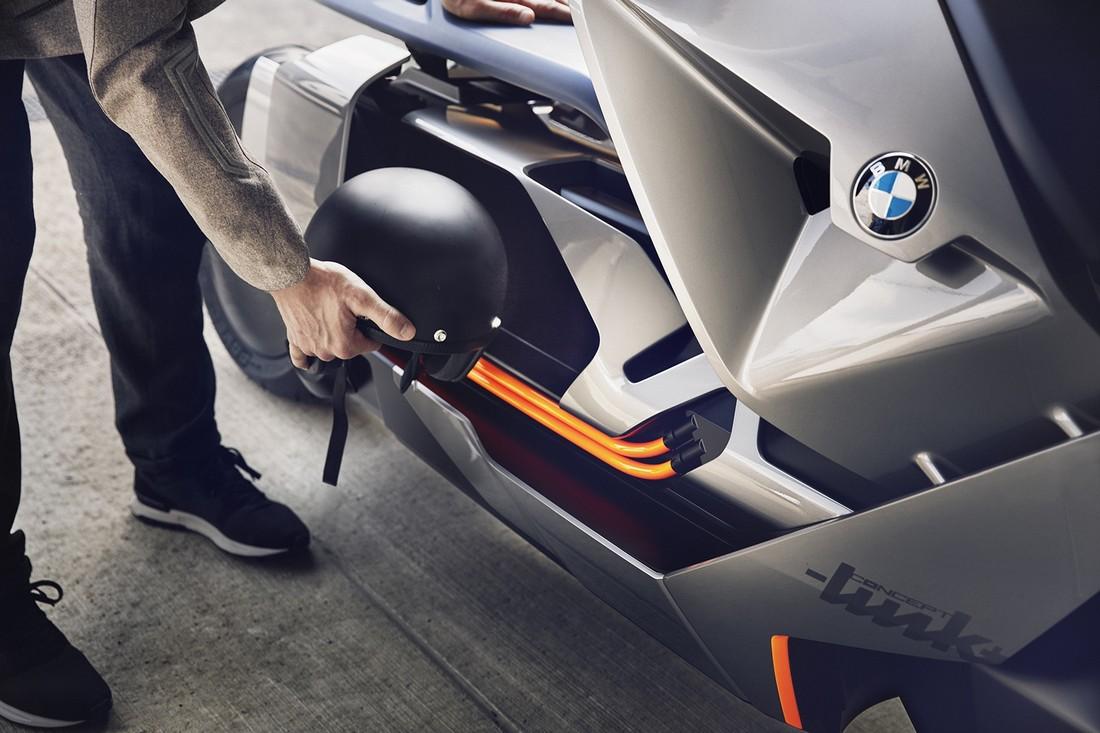 BMW Motorrad показал электроскутер будущего