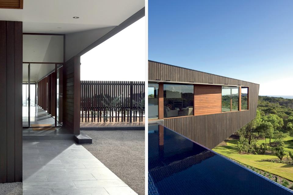 Этот «зависший в воздухе» дом в Австралии предлагает роскошные жилые перспективы