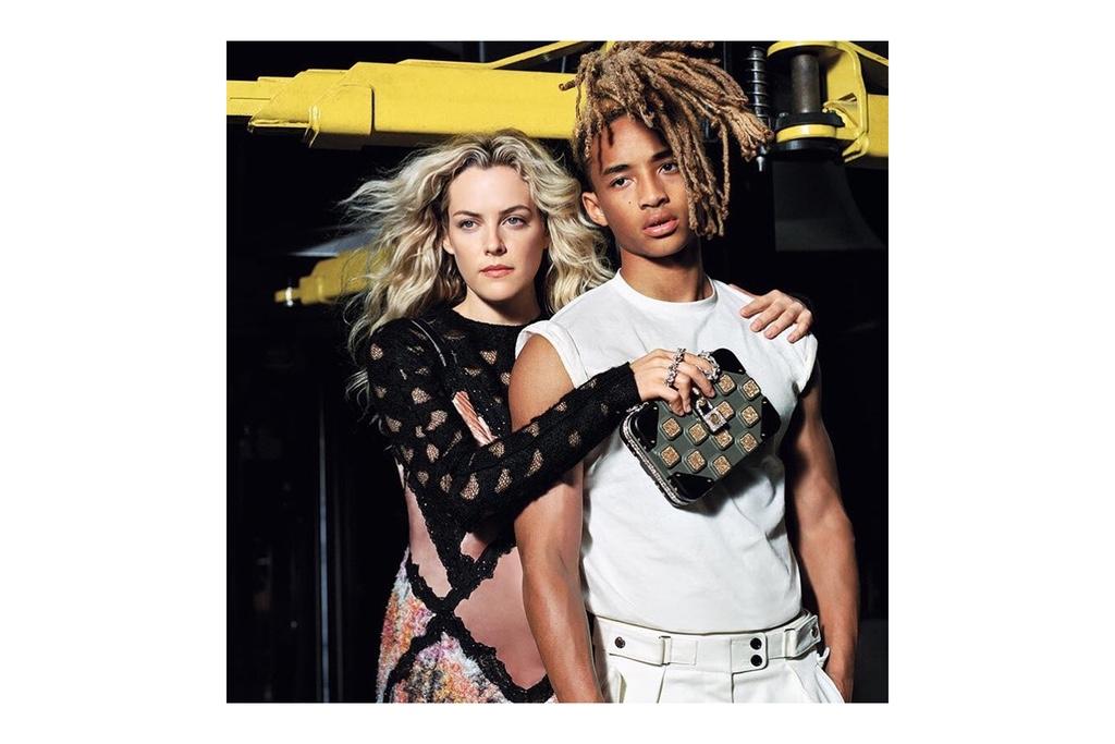 Джейден Смит в рекламной кампании Louis Vuitton