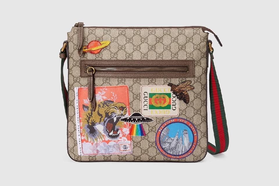 Gucci безбожно «заляпал» круизную коллекцию сумок