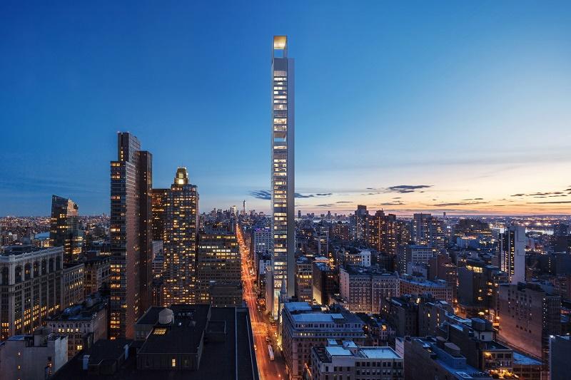 Meganom анонсируют свои планы на роскошный небоскреб в Нью-Йорке