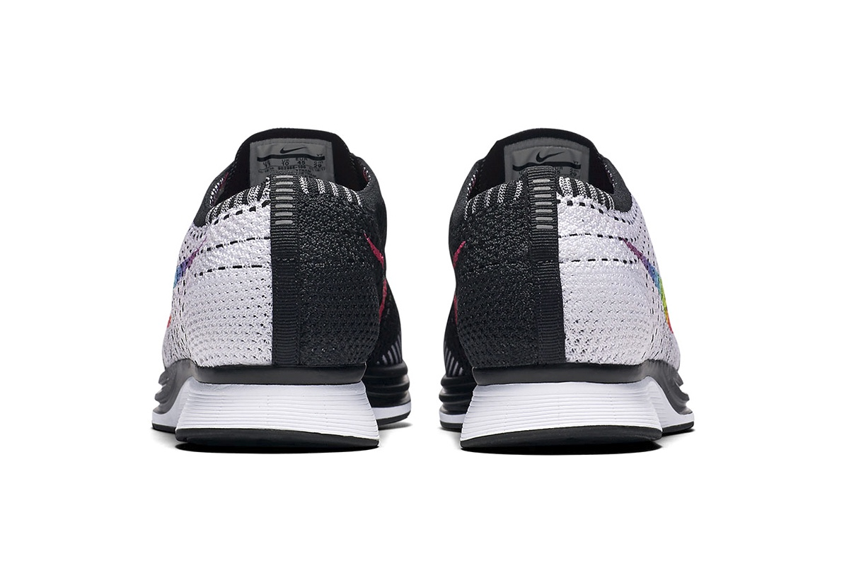 Радужный флаг ЛГБТ на Nike Flyknit Racer «Be True»