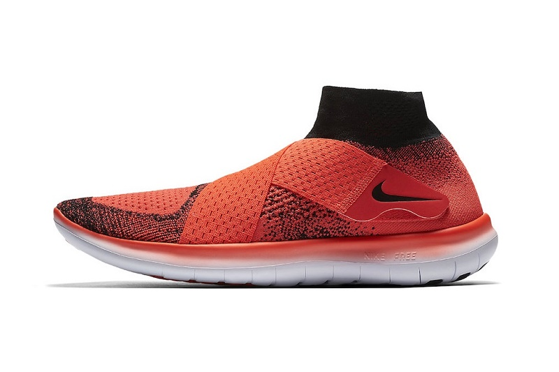 "Nike «завернул» Free RN Motion Flyknit в гамму ""Bright Crimson"""