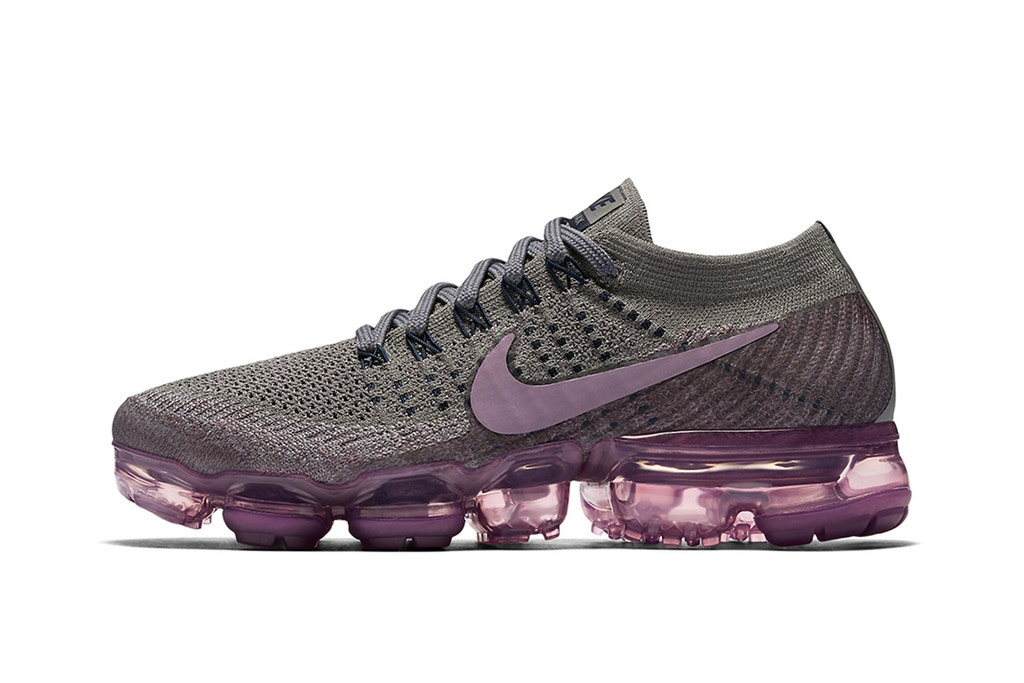 NikeLab представляет два новых цвета для кроссовок Air VaporMax — «Cargo Khaki» и «Tea Berry»