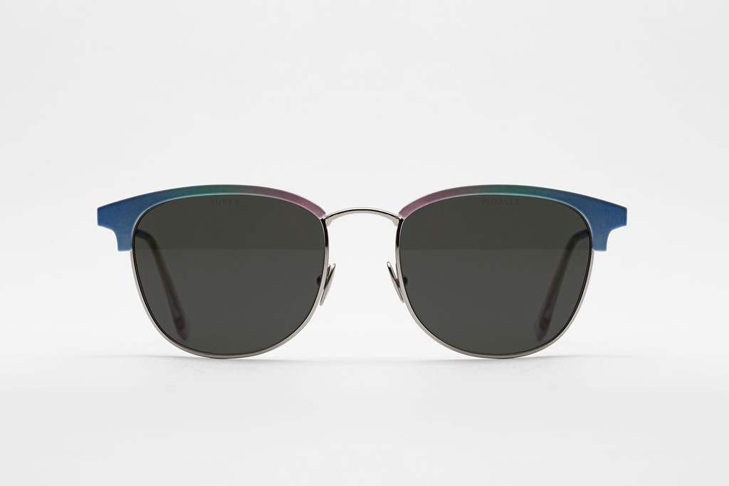 Pigalle и SUPER by RETROSUPERFUTURE представили солнцезащитные очки «Terrazzo»