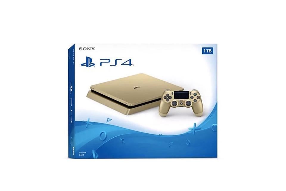 Sony сообщила о скором выпуске PlayStation 4 в серебряном и золотом цвете