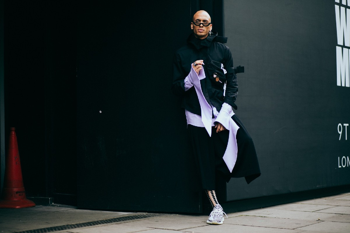 Уличный стиль: Неделя мужской моды в Лондоне весна/лето 2018. Часть 1