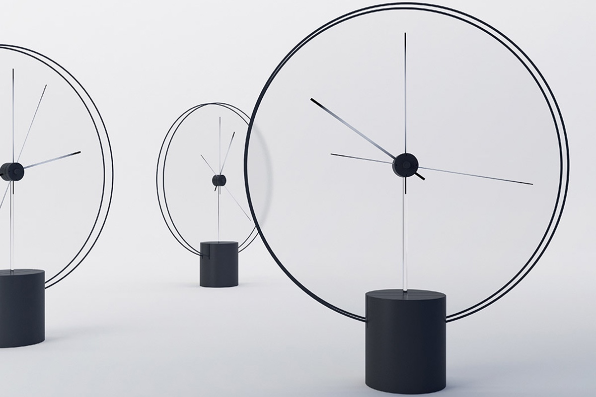 Меняющие цвет часы без циферблата – мечта любого поклонника минимализма