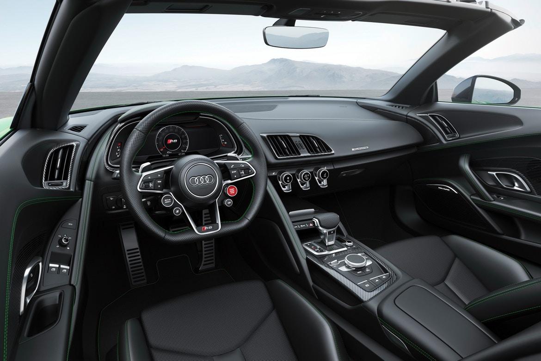 Родстер Audi R8 Spyder V10 plus установил рекорд марки