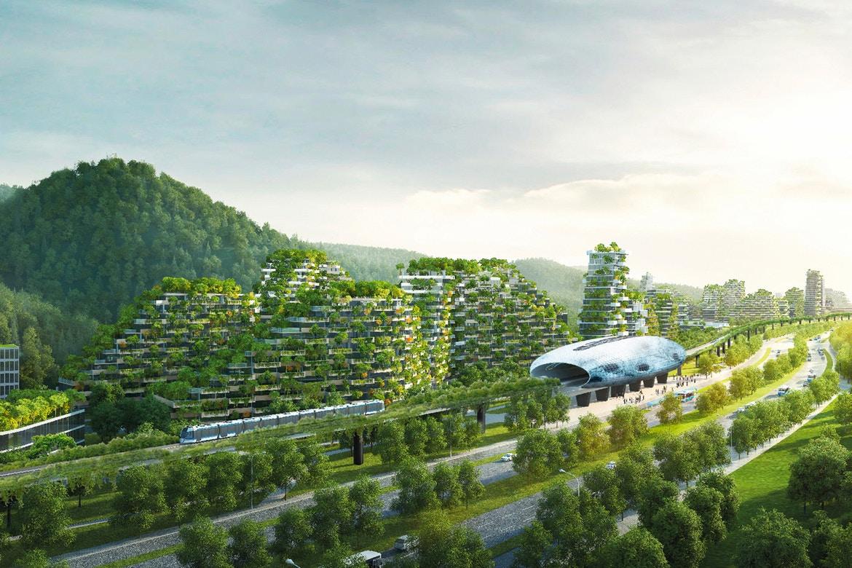 Первый в мире вертикальный лесной город начинает строиться в Китае